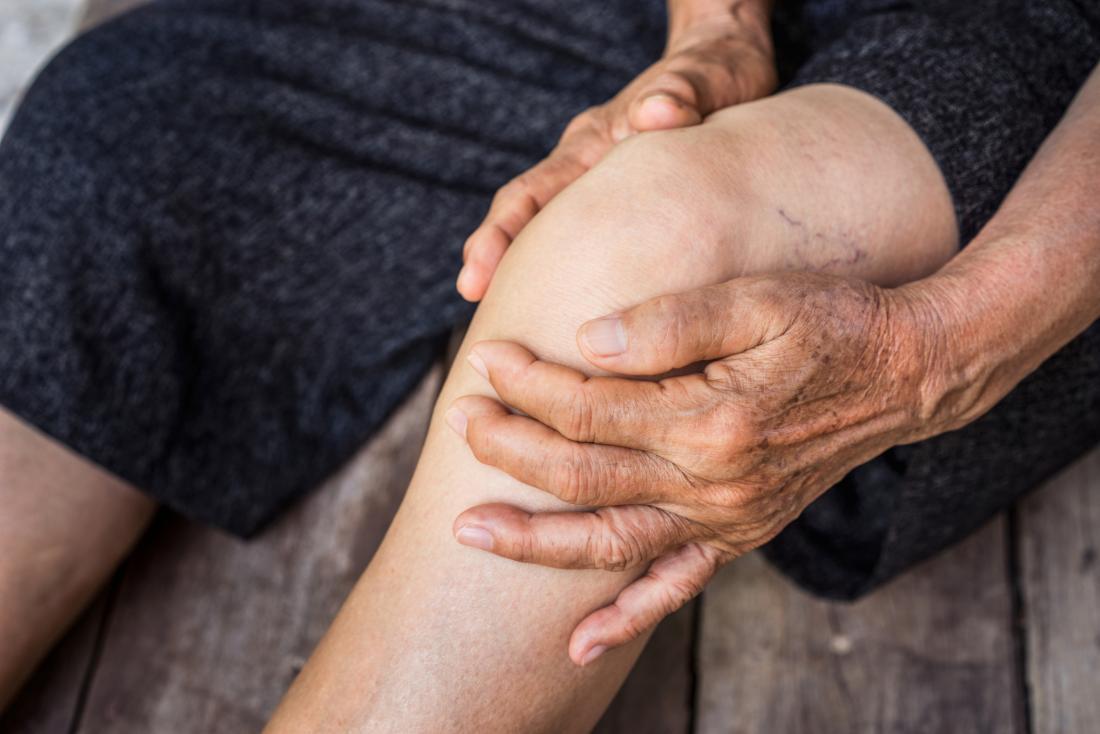 Здоровые колени в старости